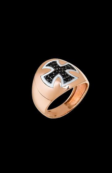 Δαχτυλίδι Chevallier K14 Σταυρός