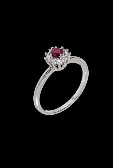 Δαχτυλίδι Κ14 Ροζέτα