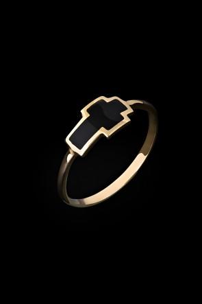Δαχτυλίδι 9 καρατίων σταυρός