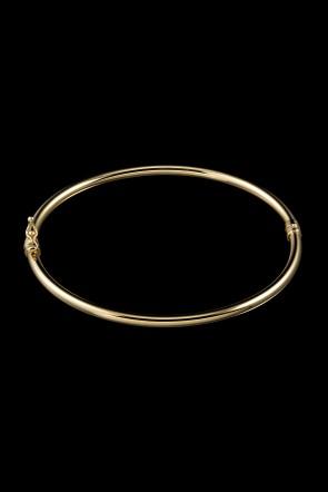 Βραχιόλι Κ14 κίτρινος χρυσός λουστρέ