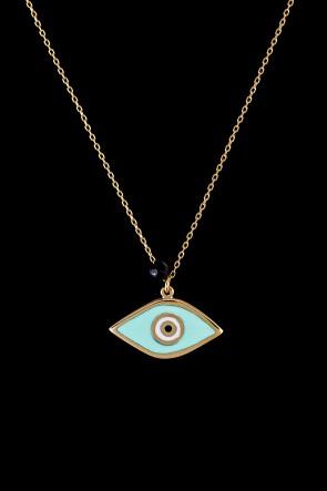 Μενταγιόν 9 καρατίων μάτι