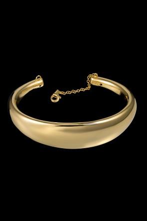 Βραχιολι Κ14 κιτρινος χρυσός λουστρέ