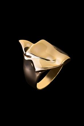Δαχτυλίδι Κ14 Τσαλακωτό
