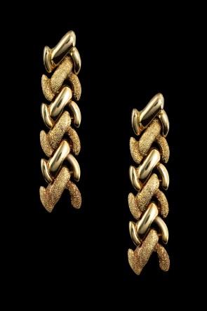 Σκουλαρίκια Κ18 Αρχαικά