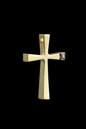 Σταυρός Κ14 Xρυσός