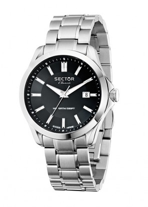 Sector Classic Stainless Steel Bracelet