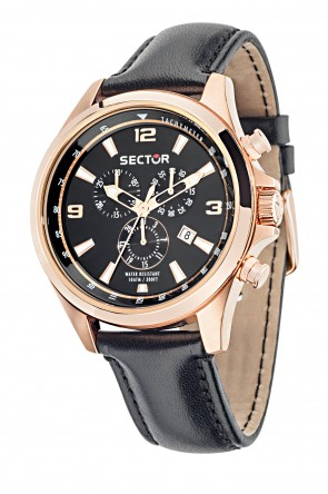 SECTOR Pink Gold Chronograph