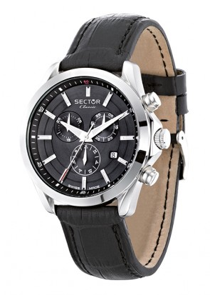 SECTOR CLASSIC Black Dial Chronograph