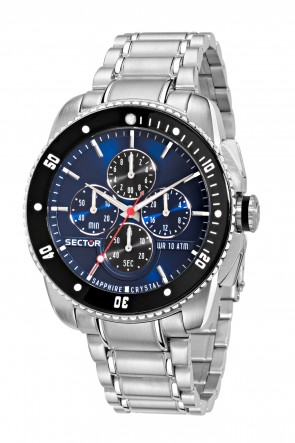 SECTOR 350 Blue Dial Chronograph