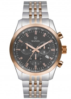 WAINER Wall Street Grey Dial
